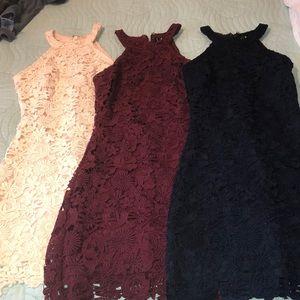 Love Poem Lace Dress BUNDLE ( A STEALLLLL)